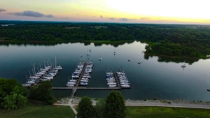 drone photo Smithville Missouri