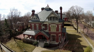 Old Victorian House in Atchison Kansas
